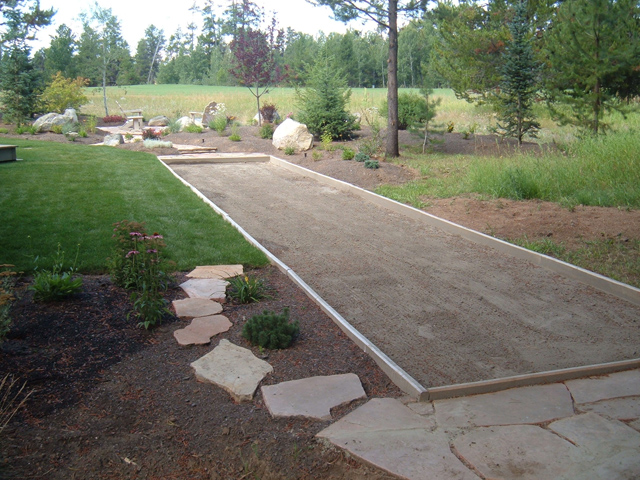Backyard Bocce Ball Court Construction :  Bocce Ball Court Ideas on Pinterest  Cushions, Bocce ball court and